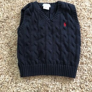 Ralph Lauren Polo Sweater Vest 18 months